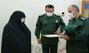 فرمانده سپاه ناحیه بردسکن در دیدار با خانواده شهید جوانمرد مطرح کرد؛