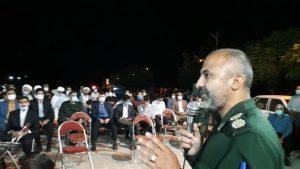 برگزاری یادواره 6 شهید روستای برجک از توابع بخش انابد
